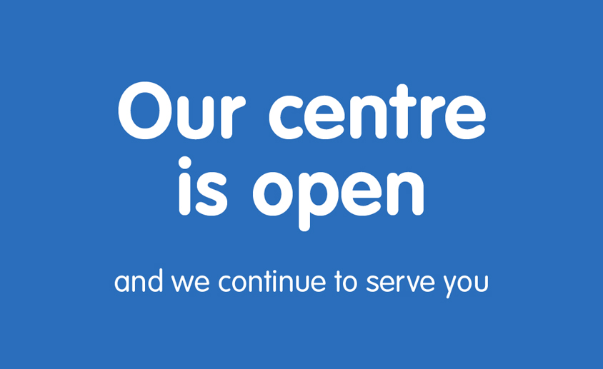 We are open 844 x 517